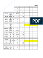 Lean KPI Data Sheet 2019-2020