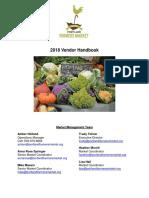 Vendor Handbook 2018