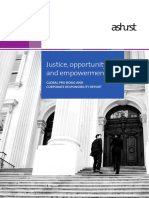 ASHURST Justice Opportunity and Empowerment