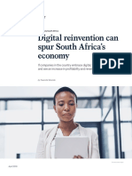 Digital Reinvention Can Spur South Africas Economy VF