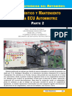 Diagnóstico y Mantenimiento de La ECU Automotriz II