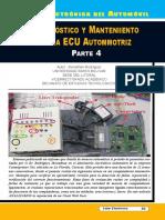 Diagnóstico y Mantenimiento de La ECU Automotriz IV