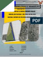 1. Caratula Hidrología e Hidráulica Defensa Ribereña Rio Mantaro - Pilcomayo