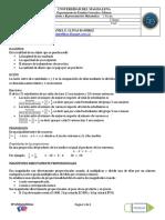 Guía No 3 - i Seg - Razones, Proporciones, Regla de Tres Simple y Compuesta, Porcentajes - Profe Daniel Llinás 2019-i