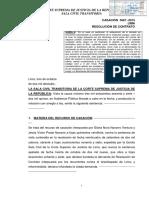 CAS Nº 3667-2015-Lima - Puede resolverse el contrato de donación si no se cumple el cargo.pdf