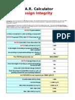 FAR Calculator by DESIGN INTEGRITY.xls