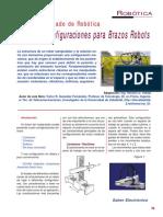 SE237 Lección 05 Tipos de Configuraciones Para Brazos Robots