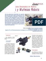 SE243 Lección 11 Manos y Muñecas Robots