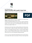 Dispute Resolution Still Arguably Islamic Bank