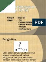 Ester (Kelompok 4)