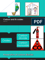 Carbon and Its Oxides