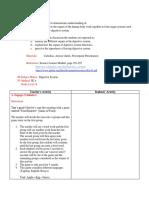 Digestive System Lesson Plan SC