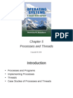 Chapter 05 Processes&Threads
