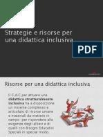 Strategia Scuola Inclusiva
