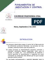 Fundamentos de Instrumentacion y Control