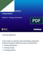 Module 6 Lithology Classification