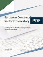 BIM in the EU Construction Sector