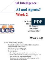 AI Week2 What is AI and Agents