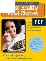tips for kids with type 2 diabetes. Make healthy Food Choices (Teens).pdf