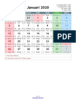 Kalender Masehi 2020