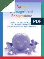 Bowel Management Programm Englisch