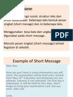 Short message .ppt