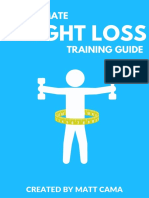 The Ultimate Weight Loss Training Guide PDF