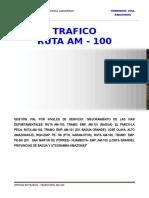 Estudio de Tráfico RUTA TRAMO 100