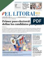 El Litoral Mañana 28-04-2019