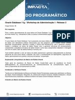 Conteúdo Programático - Oracle Database 11g - Workshop de Administração I - Release 2.pdf
