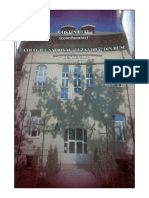 Costin CLIT, Colegiul Național ,,Cuza Vodă'' din Huși