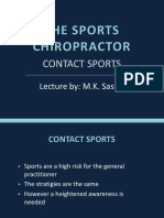 The Sports Chiropractor