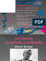 La ciencia, su método y filosofía de Mario Bunge