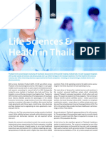 Factsheet Life Sciences & Health in Thailand