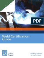Lloyd s Register Weld Certification Guide