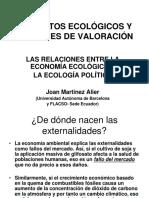 Martinez Alier Conflicto Ambiental y Lenguaje de Valoracion