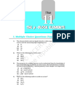 P Block Elements (11) Chapter 11