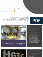 ecd 201 professional career plan