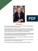 CV 2018 Michael Ignatieff