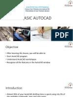 9 Basic Autocad
