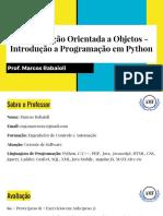 Introdução à Programação Em Python (1)