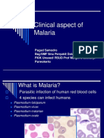 Clinical Aspect of Malaria