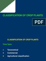 3.Classification of Crop Plants