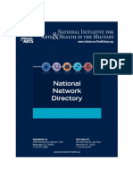 National Initiative for Arts and Health in the Military National Network Directory
