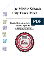 city track packet 2019