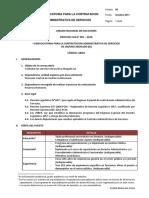 PROCESO CAS N° 001 – 2019