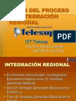 6) Fases Del Proceso de Integración Regional