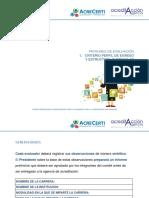 1. Patrones de Evaluación Perfil de Egreso y Estructura Curricular