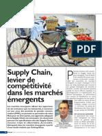 SCM Levier de Competitivité Dans Les Marchés Emergents