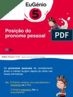 Eug5 Ppt Posicao Pronome Pessoal